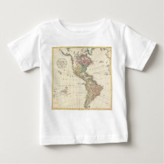 1796 Mannert Map of North and South America Infant T-shirt