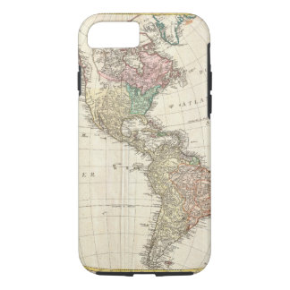 1796 Mannert Map of North and South America iPhone 8/7 Case