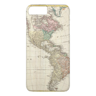 1796 Mannert Map of North and South America iPhone 8 Plus/7 Plus Case