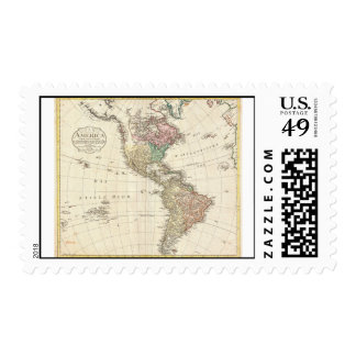 1796 Mannert Map of North and South America Postage
