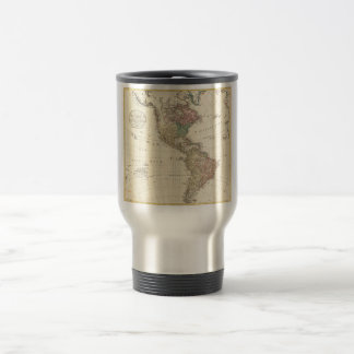 1796 Mannert Map of North and South America Travel Mug