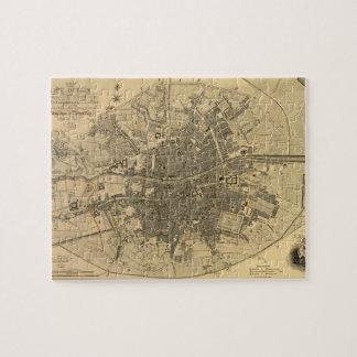 1797 Map of Dublin Ireland Jigsaw Puzzles