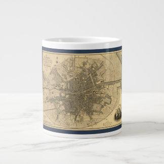1797 Map of Dublin Ireland Large Coffee Mug