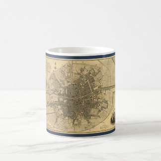 1797 Map of Dublin Ireland Classic White Coffee Mug