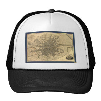1797 Map of Dublin Ireland Trucker Hat
