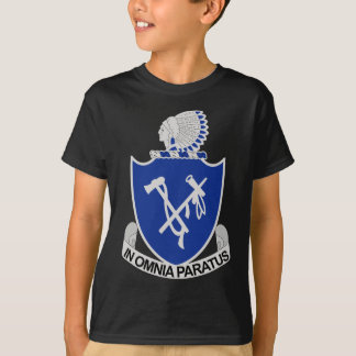 179th Infantry Regiment - IN OMNIA PARATUS T-Shirt