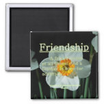 17:17 de los proverbios de la amistad imanes de nevera