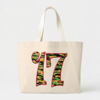 17 Age Camo Jumbo Tote Bag