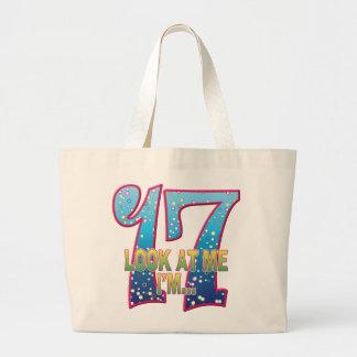 17 Age Rave Look Jumbo Tote Bag