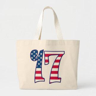 17 Age USA Jumbo Tote Bag