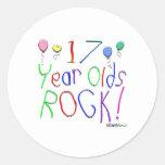 ¡17 años de la roca! Pegatina