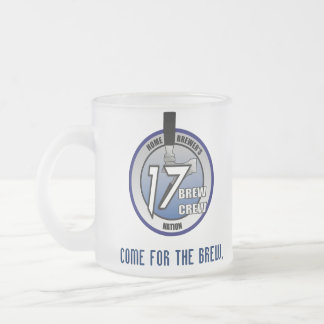 17 Brew Crew Frosted Mug