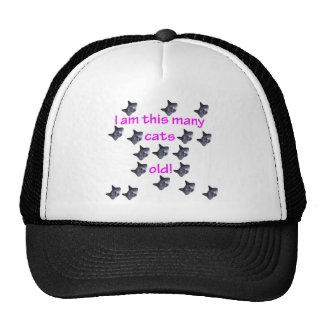 17 Cat Heads Old Trucker Hat