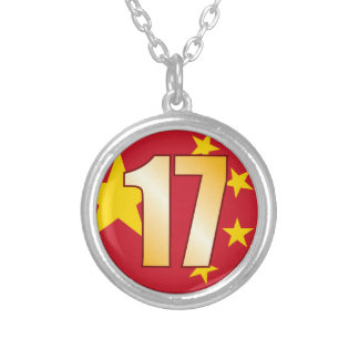 17 China Gold Silver Plated Necklace