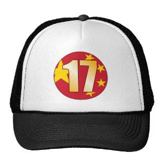 17 China Gold Trucker Hat