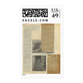 17 Clippings Postage Stamps
