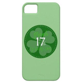 17 de marzo celebración del día del St. Patty iPhone 5 Carcasas