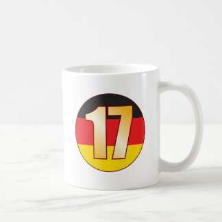 17 GERMANY Gold Coffee Mug