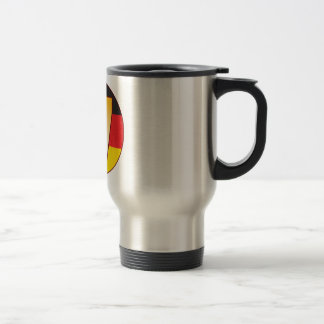 17 GERMANY Gold Travel Mug