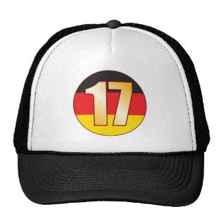 17 GERMANY Gold Trucker Hat