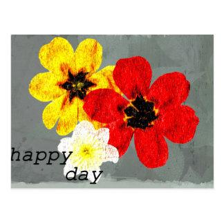 17 Happy Day Postcard