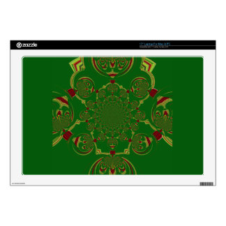 17 Inch Laptop Skin Template