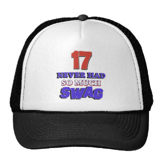 17 Never Had So Much Swag Designs Trucker Hat