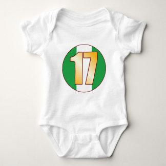 17 NIGERIA Gold Baby Bodysuit