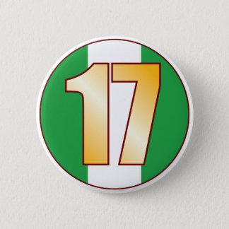 17 NIGERIA Gold Button