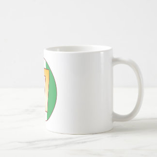 17 NIGERIA Gold Coffee Mug