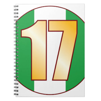 17 NIGERIA Gold Notebook
