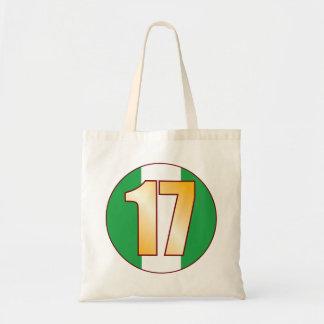 17 NIGERIA Gold Tote Bag