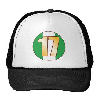 17 NIGERIA Gold Trucker Hat