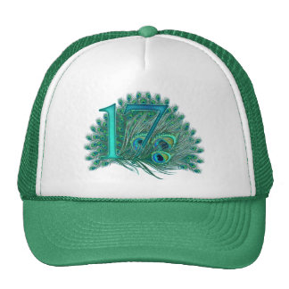 17/ Number / age / year / 17th birthday template Trucker Hat