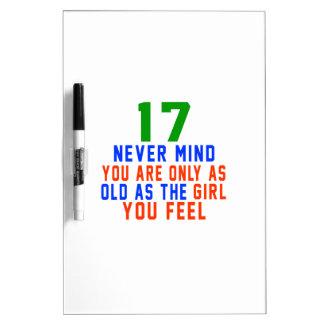 17 nunca importan de usted son solamente tan pizarras blancas