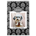 17 Photo Personalized Family and Colorful Patterns Calendar
