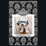 """17 Photo Personalized Family and Colorful Patterns Calendar<br><div class=""""desc"""">Add your favorite photos to make a modern photography calendar. Each month includes room for a full photo. There is also a space on the front and the back to customize with more pictures.</div>"""