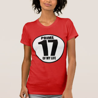17 - prime of my life t shirt