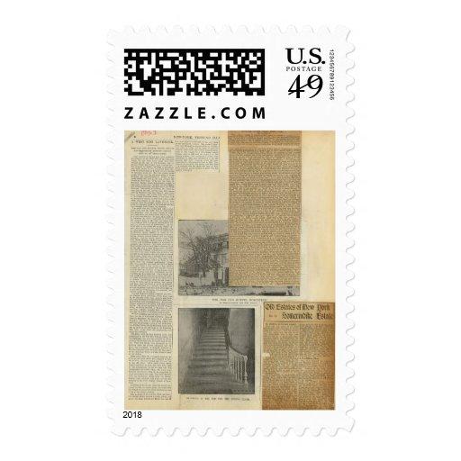17 recortes sello