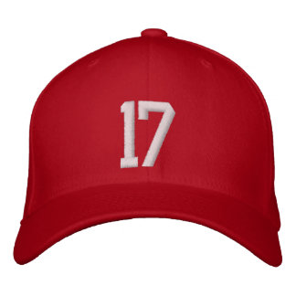 17 Seventeen Embroidered Baseball Cap
