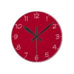 17 sombras de reloj rojo