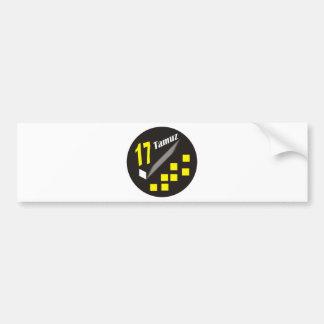 17 Tamuz Bumper Sticker