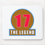 17 The Legend Birthday Designs Mouse Pads