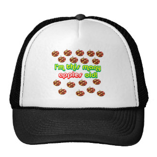 17 This Many Apples Old Mesh Hats
