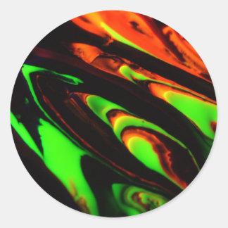 """#17 TLuv.Design© """"Phantasmagoria"""" Series Classic Round Sticker"""