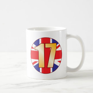 17 UK Gold Coffee Mug
