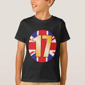 17 UK Gold T-Shirt