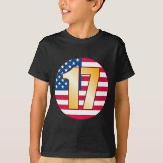 17 USA Gold T-Shirt