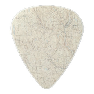 17 Waterbury sheet Acetal Guitar Pick