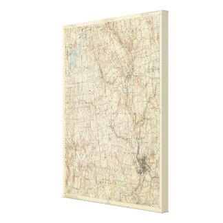 17 Waterbury sheet Canvas Print
